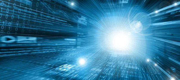 futuristic technology speed